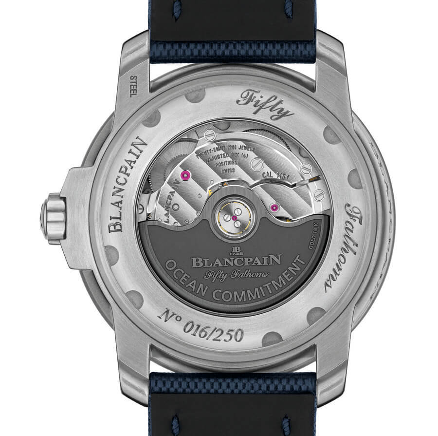 Blancpain Fifty Fathoms Caliber 1151