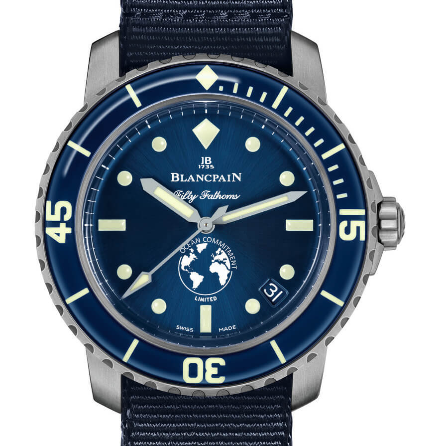 The New Blancpain Fifty Fathoms Ocean Commitment III