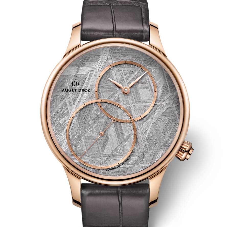 "The new Jaquet Droz Grande Seconde Off-Centered ""Meteorite"""