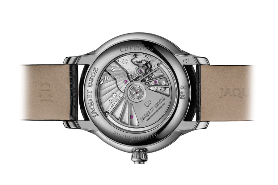 "Jaquet Droz Grande Seconde Off-Centered ""Meteorite""  Movement"