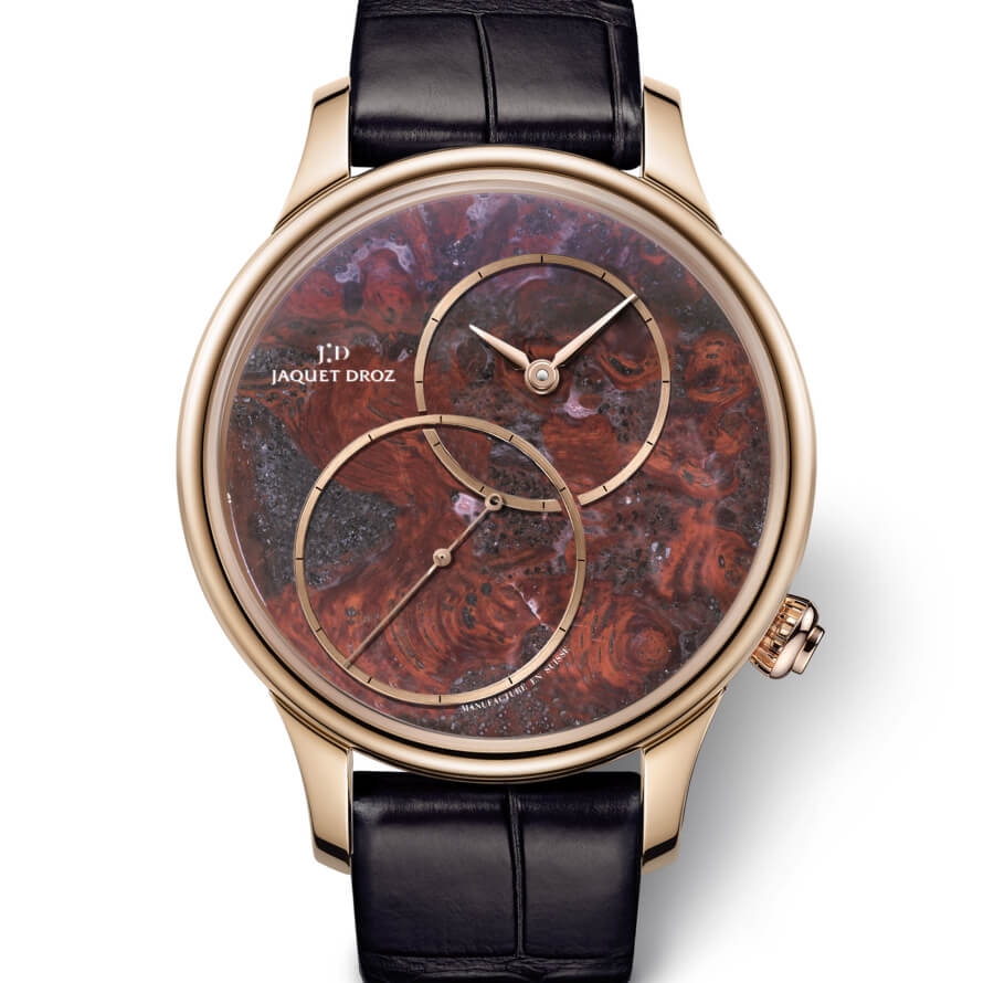 "Jaquet Droz Grande Seconde Off-Centered ""Stromatolite"""