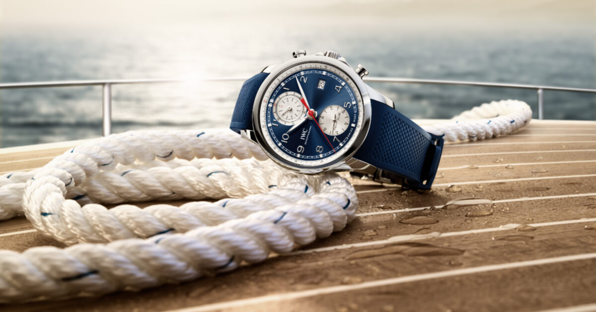 IWC Portugieser Yacht Club Chronograph Summer Edition