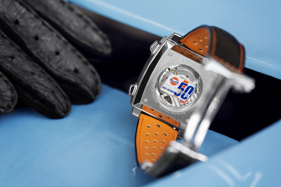 Tag Heuer Monaco Gulf 50th Anniversary Case Back
