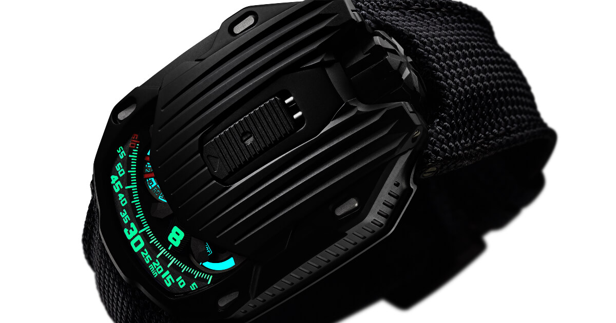 Introducing: The Urwerk UR-105 CT Kryptonite