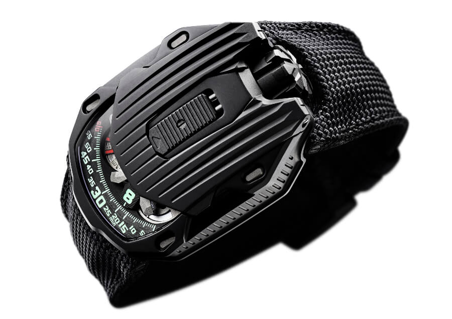 The New Urwerk UR-105 CT Kryptonite