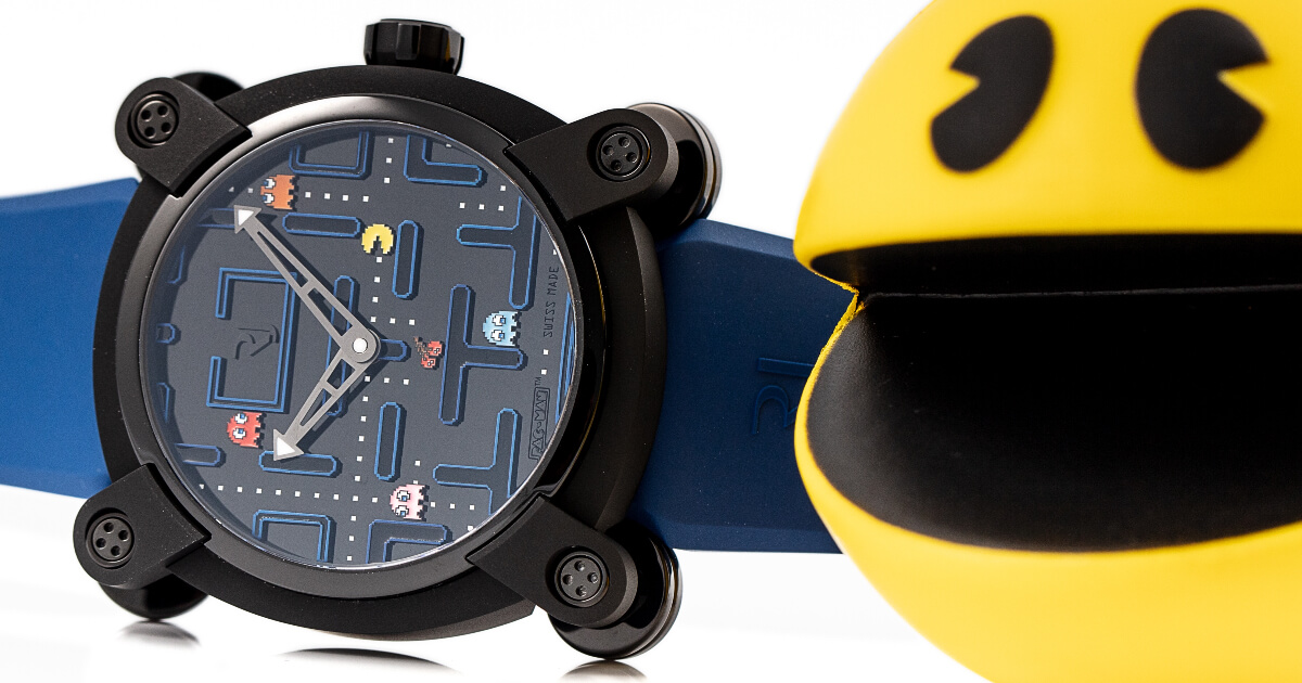 Introducing: The RJ Pac-Man Level III Watch