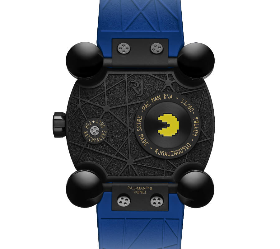 RJ Pac-Man Level III Watch Case Back