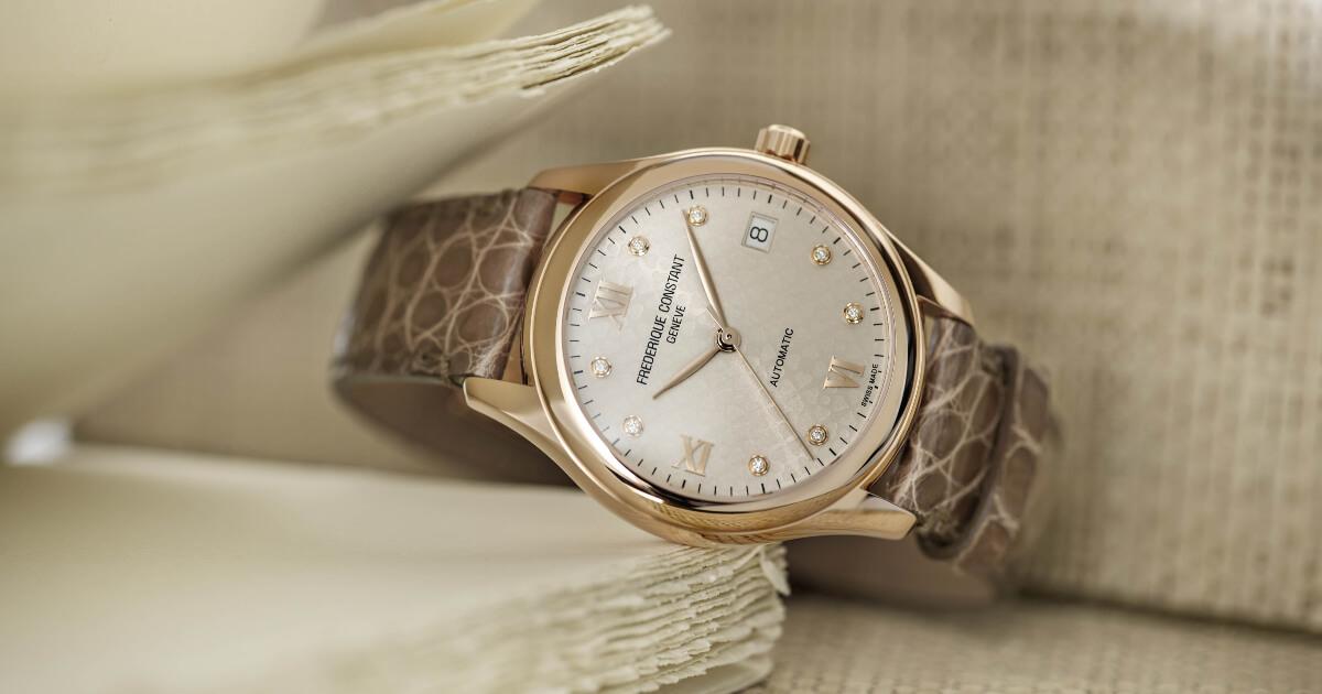Frederique Constant Introduces Six New Ladies Automatic Timepieces