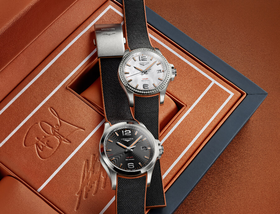 Longines Conquest V.H.P. Andre Agassi