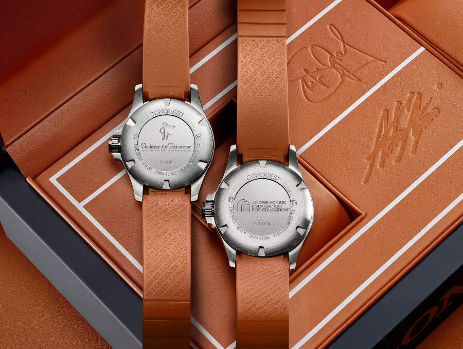 Longines Conquest V.H.P. AA SG Case Back