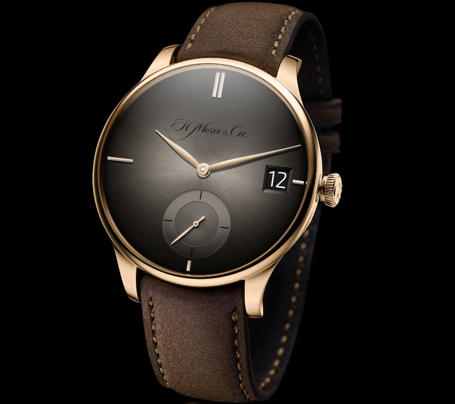H. Moser & Cie. Venturer Big Date Purity Rose Gold