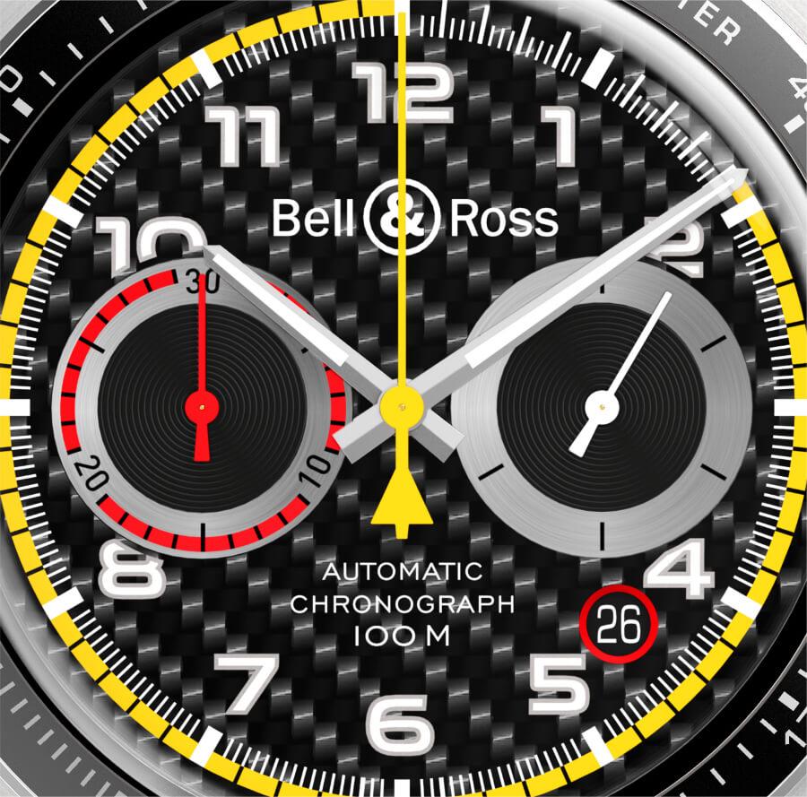 Bell & Ross BR V2-94 R.S. 18 Dial