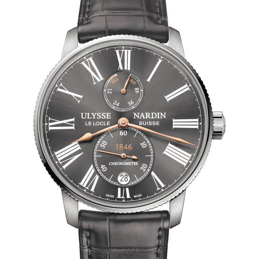 Ulysse Nardin Marine Torpilleur Boutique Only Edition in grey color