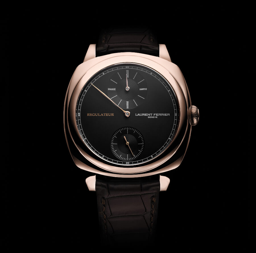 The New Laurent Ferrier Galet Square Régulateur Black