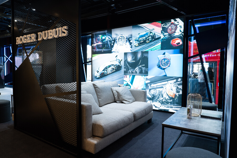 Roger Dubuis Lounge In Harrods London