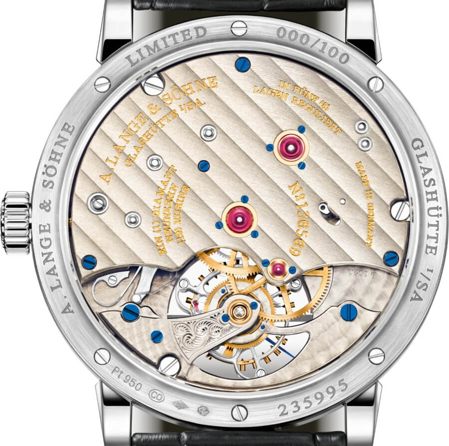 A. Lange & Söhne 1815 Tourbillon with Enamel Dial Movement