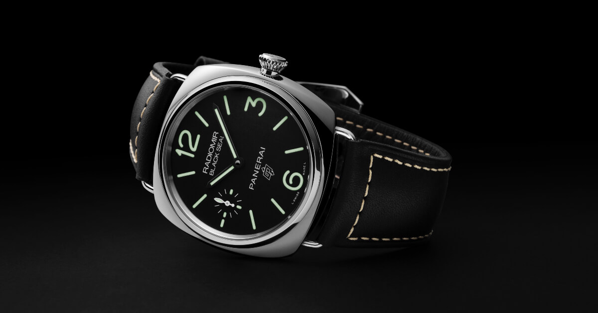 Panerai Radiomir Logo 3 Days Acciaio – 45mm and Radiomir Black Seal Logo 3 Days Acciaio – 45mm (Technical Specifications and Prices)