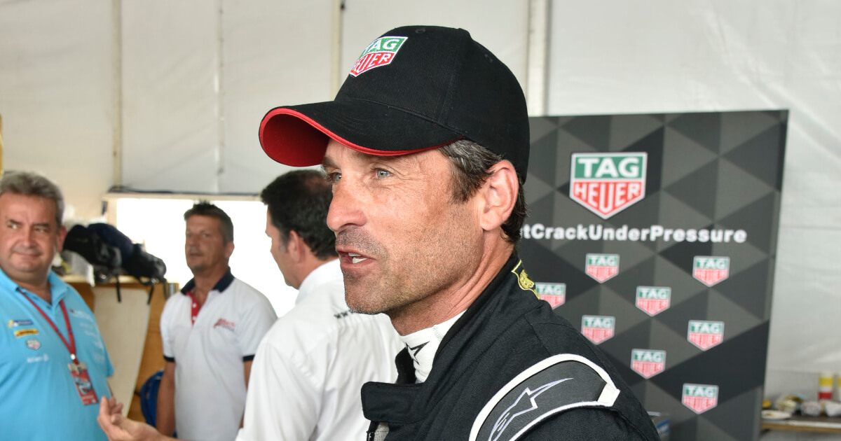 Tag Heuer And Brand Ambassador Patrick Dempsey At The FIA Formula E Championship Eprix In New York City