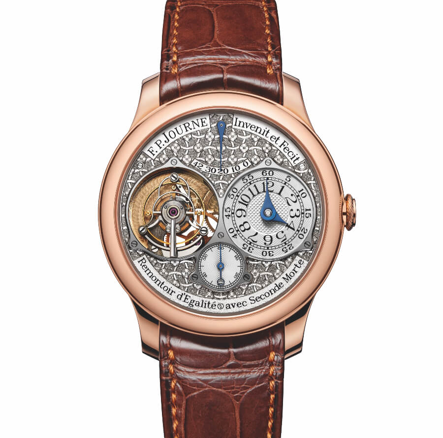 F.P. Journe Tourbillon Souverain with Régence Circulaire hand-engraved dial