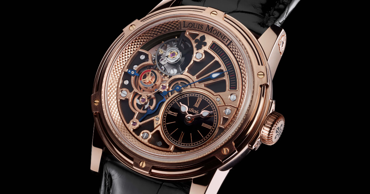 Louis Moinet Tempograph Chrome