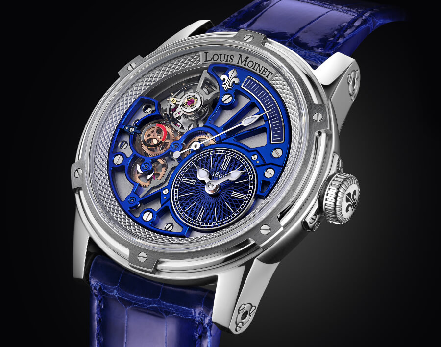 Louis Moinet Tempograph Chrome Watch Review