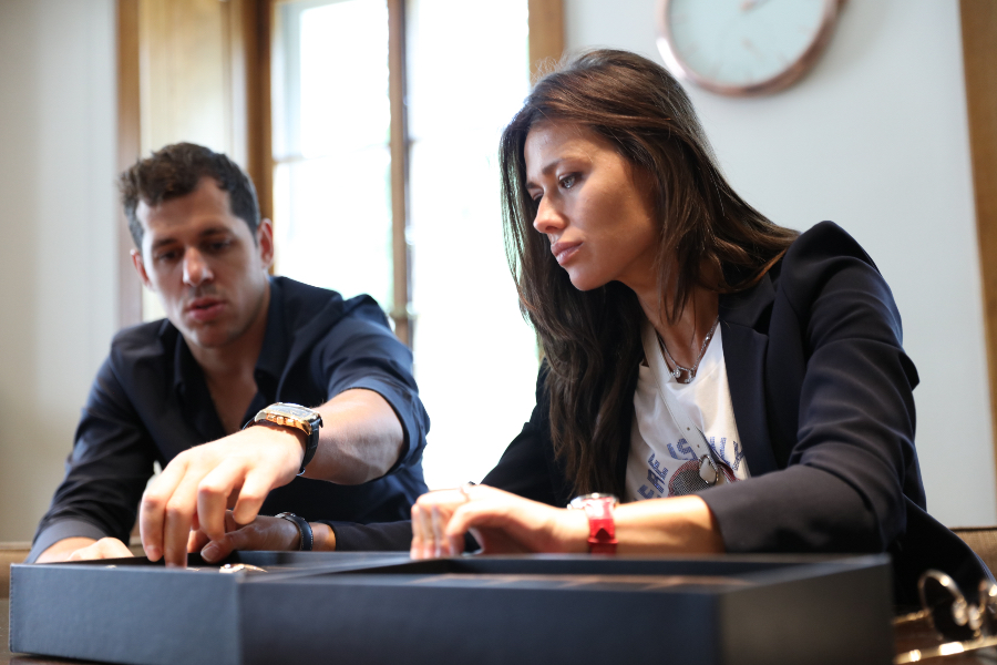 Evgeniy Malkin and Anna Kasterova Wrist Watch