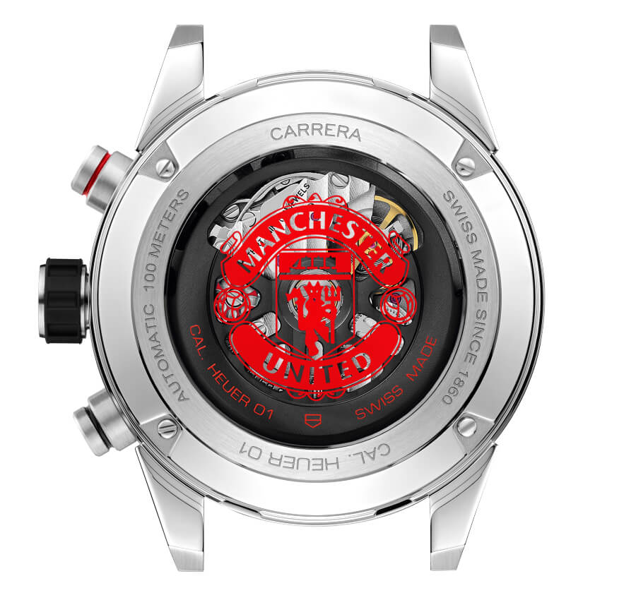 TAG Heuer Carrera Heuer 01 Manchester United Movement