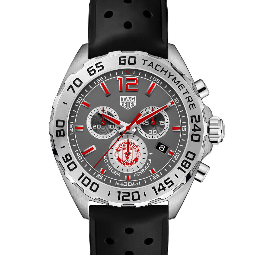 The New TAG Heuer Formula 1 Manchester United