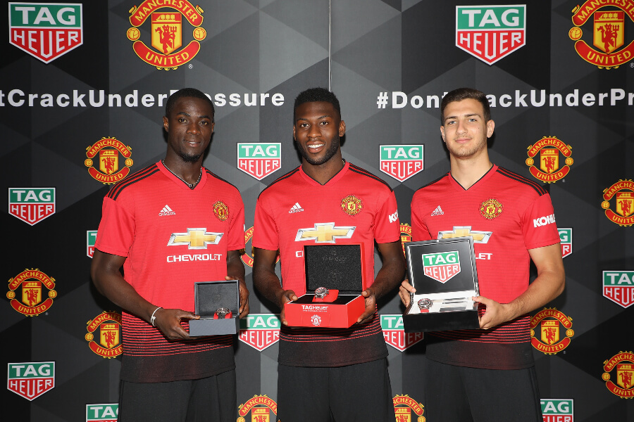 Mancester United Tag Heuer