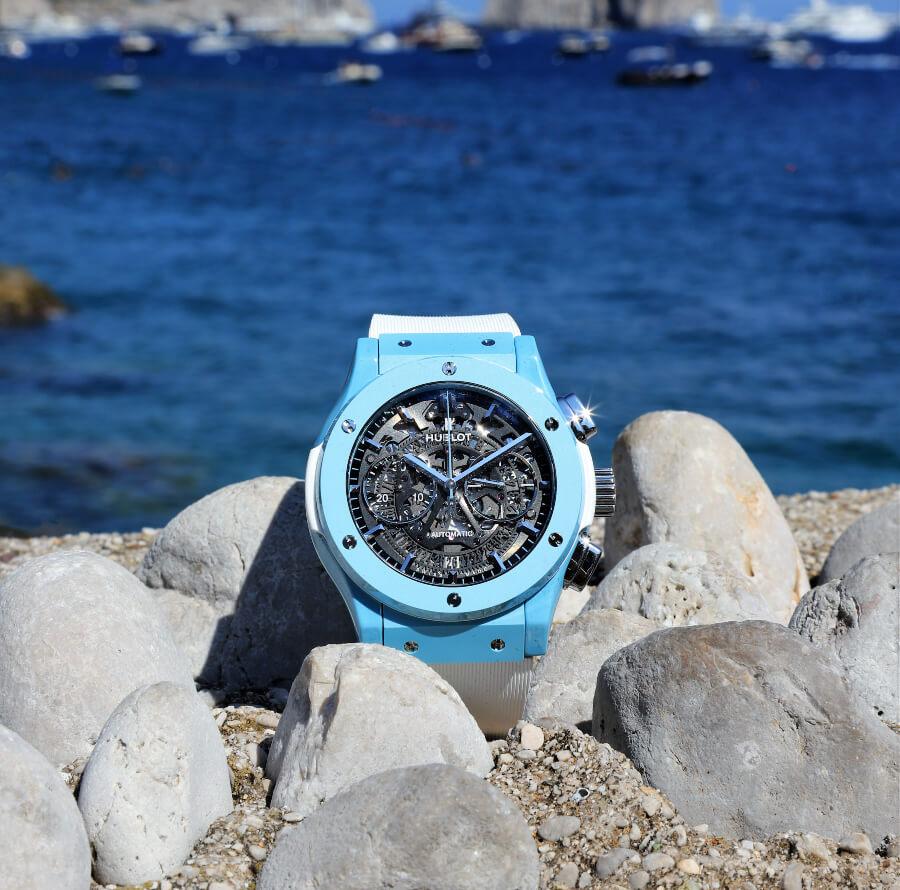 Hublot Classic Fusion Aerofusion Chronograph Capri