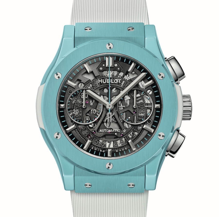 The New Hublot Classic Fusion Aerofusion Chronograph Capri