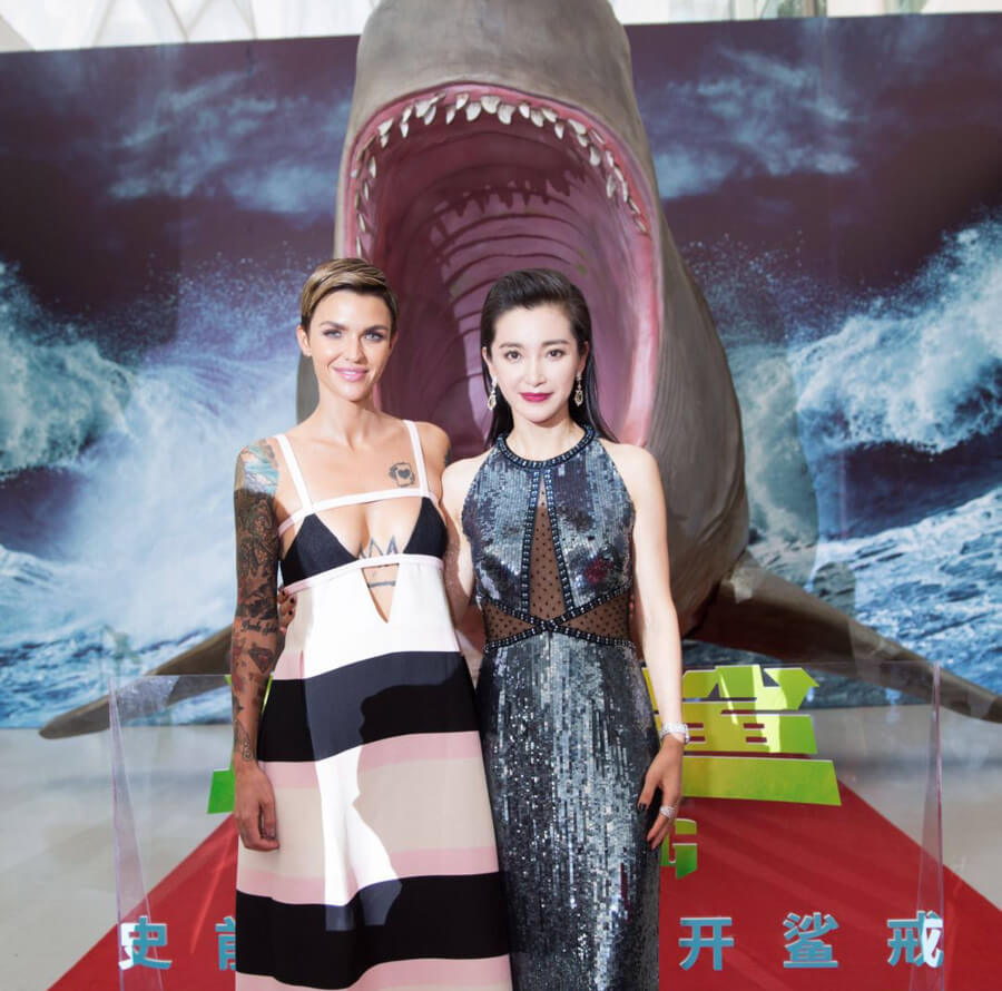 Ruby Rose and Li Bingbing