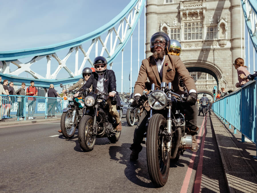 Distinguished Gentleman's Ride Charity