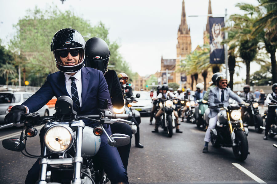 Distinguished Gentleman's Ride In London