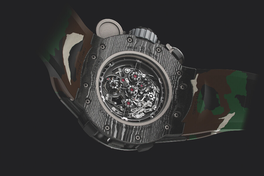 Richard Mille RM 25-01 Tourbillon Adventure Sylvester Stallone Movement