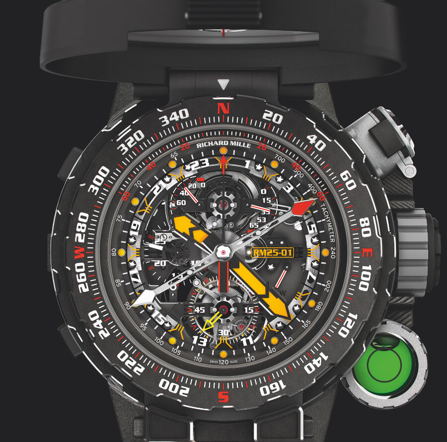Richard Mille RM 25-01 Tourbillon Adventure Sylvester Stallone Watch Review