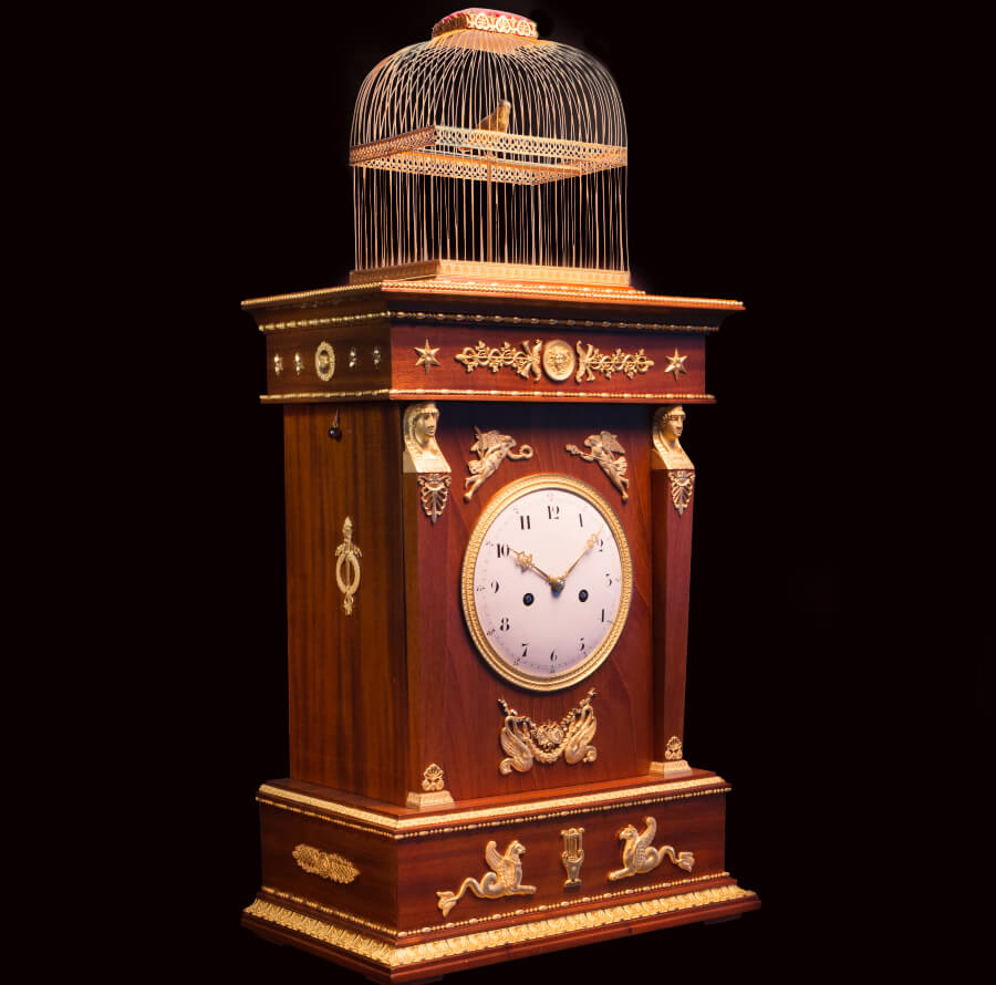 """Singing Bird Clock"" by Jaquet Droz"