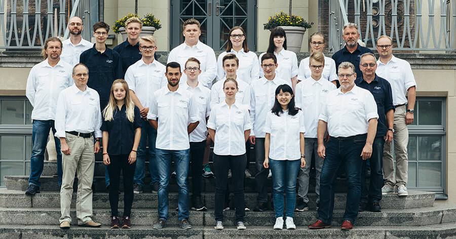 "New class of students at the ""Alfred Helwig"" School of Watchmaking"