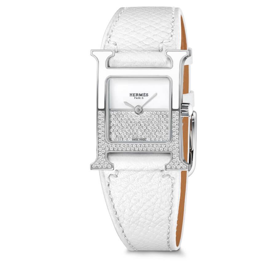 Hermes Women Watch Diamonds