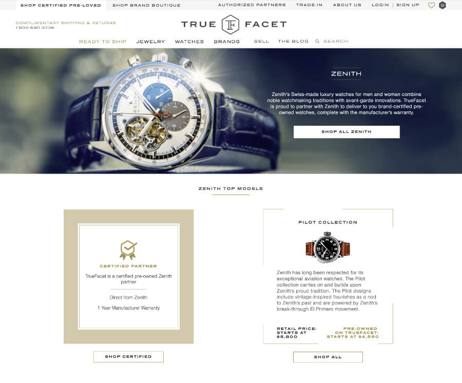 TrueFacet Pre-Owned Wathes