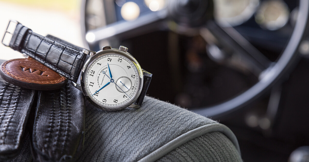 A. Lange & Söhne is supporting the Concours of Elegance