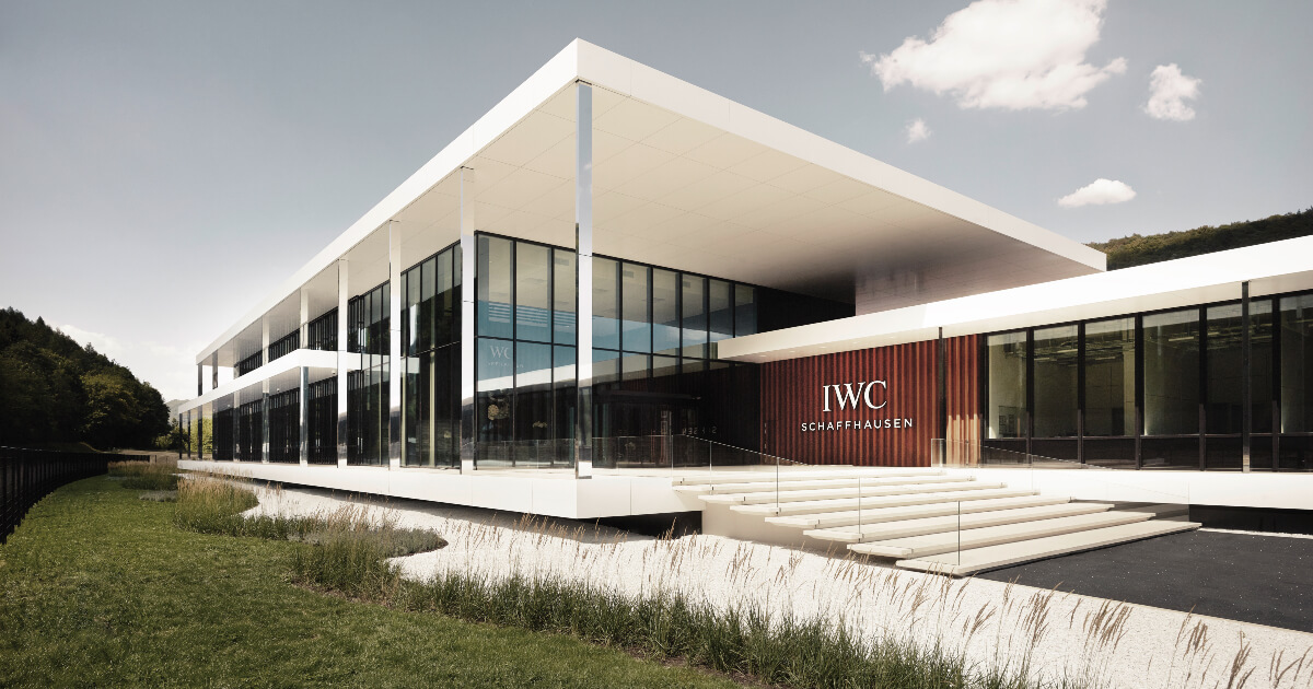 IWC Opens Its New Manufakturzentrum