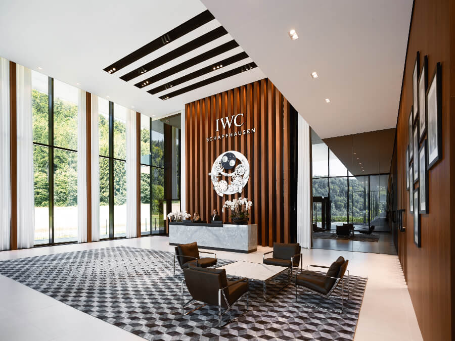 The New IWC Manufakturzentrum Reception
