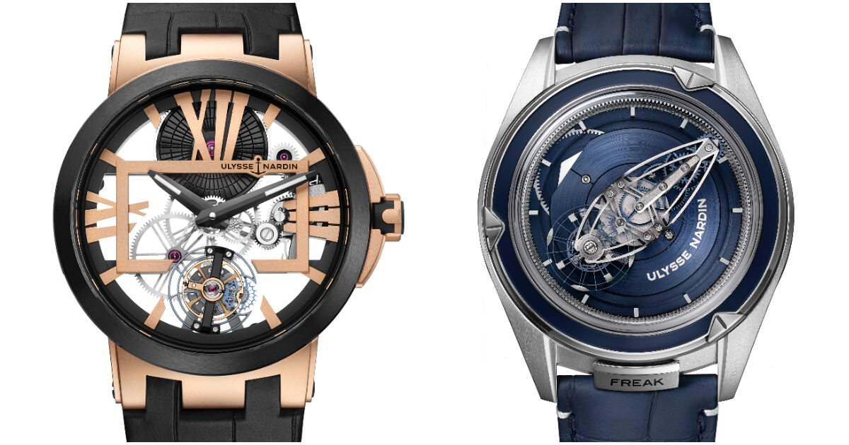 The Ulysse Nardin Tourbillons armada