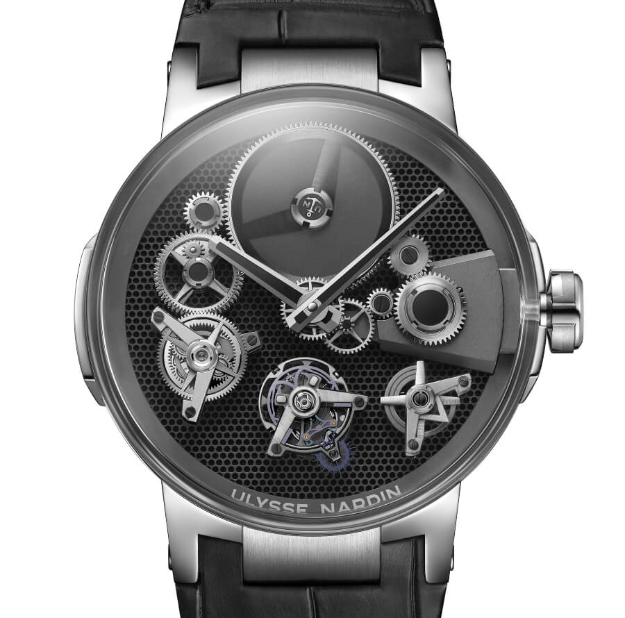 The New Ulysse Nardin Executive Tourbillon Free Wheel