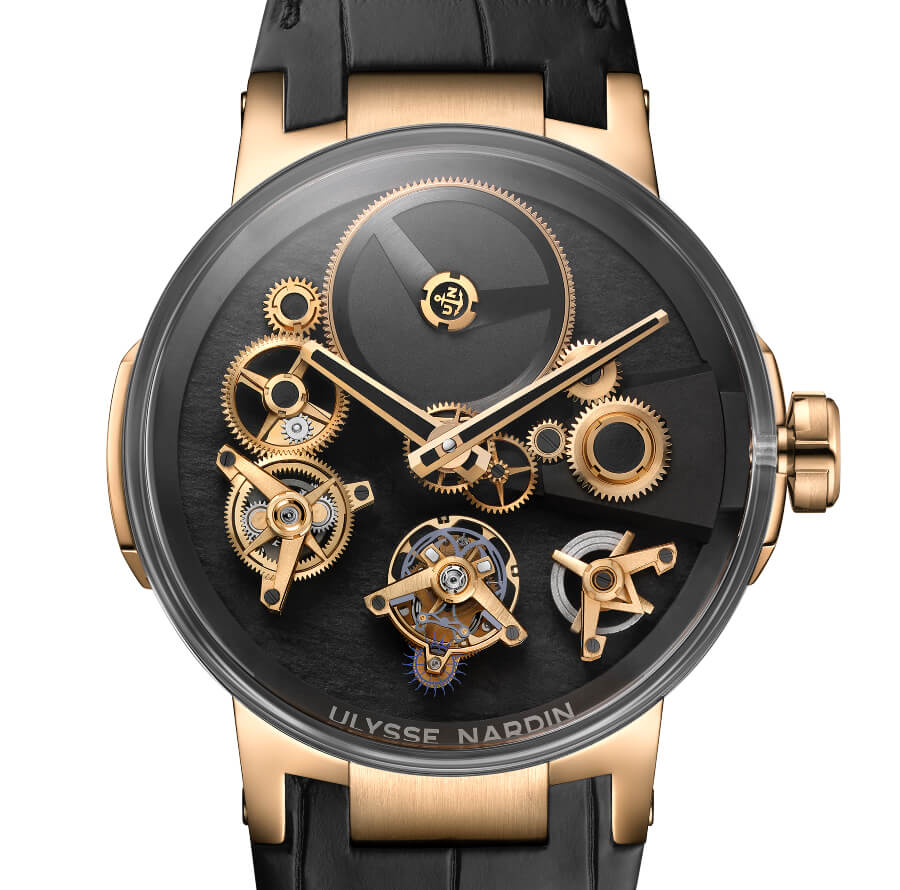 The New Ulysse Nardin Executive Tourbillon Free Wheel 2018