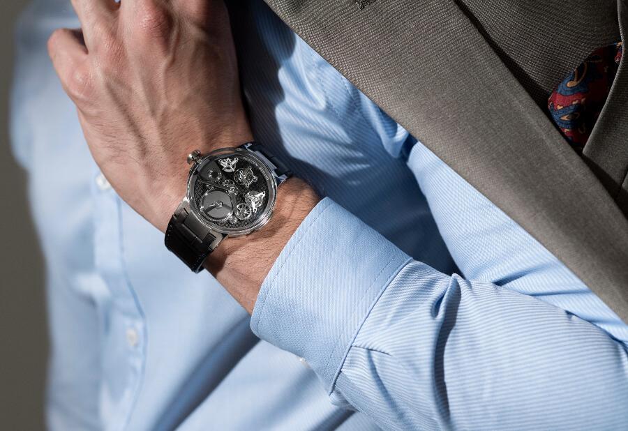Ulysse Nardin Executive Tourbillon Free Wheel Watch Review