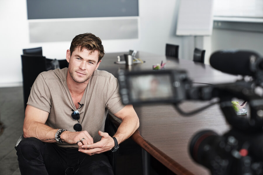 Chris Hemsworth Wrist Watch