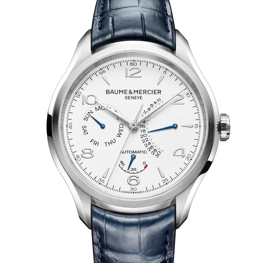 The New Baume & Mercier Clifton – Power Reserve, Retrograde Day And Date