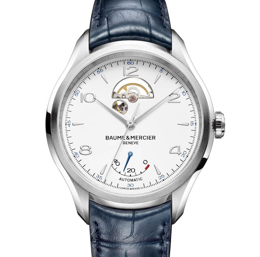 Baume & Mercier Clifton – Open Balance Wheel And Power Reserve